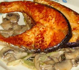 Salmon_Mushroom_Sauce