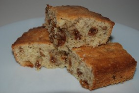 Lemon-fig cake
