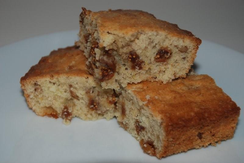 Lemon-fig cake