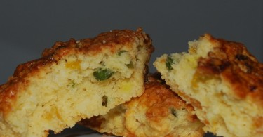 Dried Apricot and Pistachio Scone